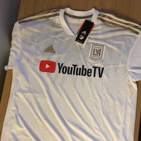 new style a99a1 3b5ce Adidas LAFC Soccer Jersey NWT